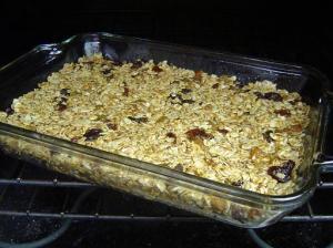 granola-oven