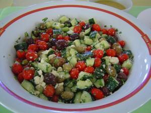 baby shower greek salad