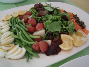 baby shower salad nicois