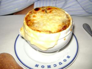 Bouchon french onion soup