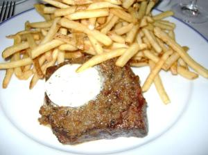 Bouchon steak frite