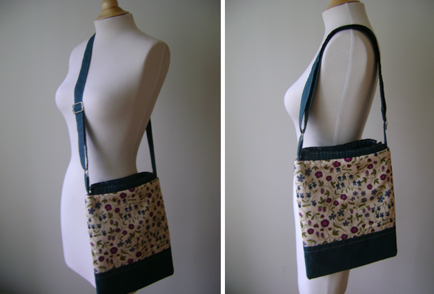 Pattern For Small Shoulder Bag 11