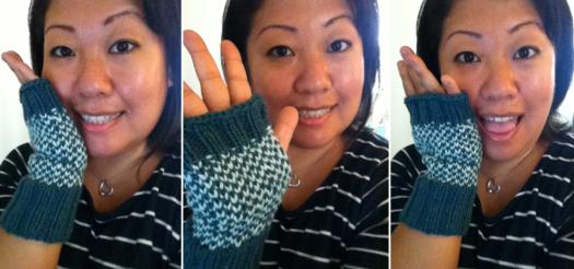 gloves collage