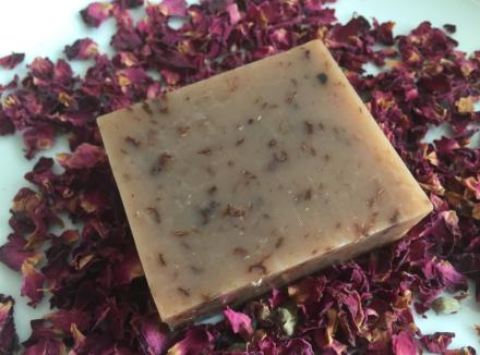 rose soap 1